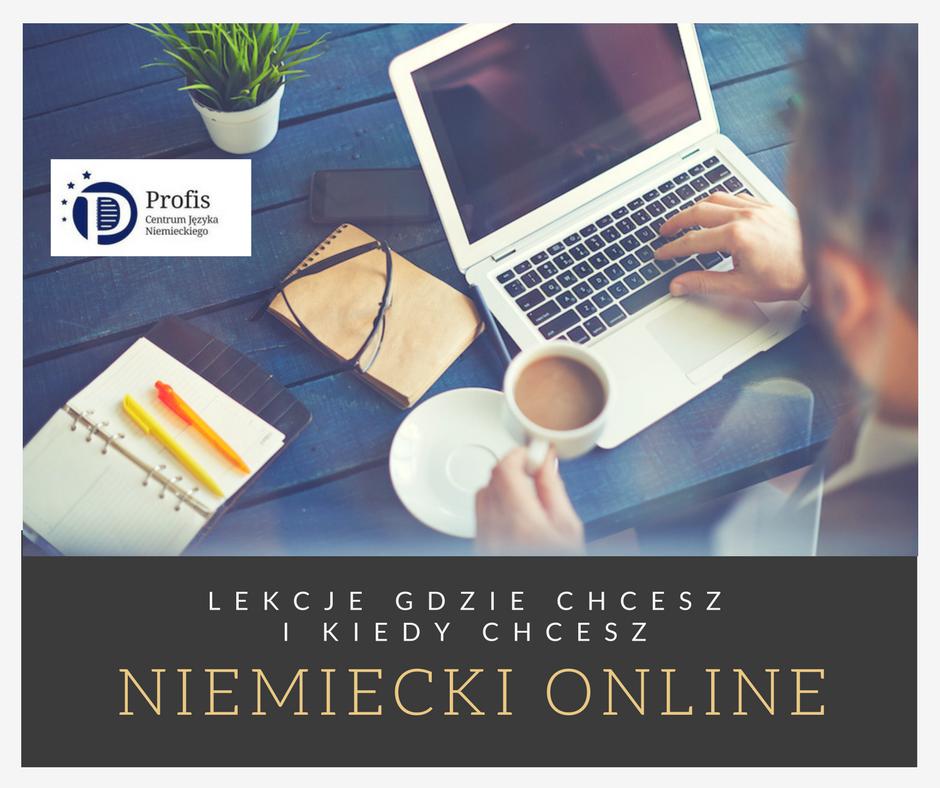 Dlaczego niemiecki online?